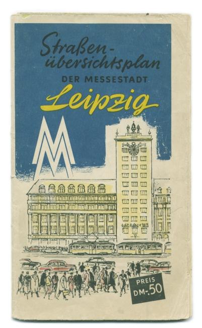 Stadtplan von 1959
