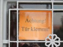 Schild am Naturkundemuseum