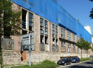 Ansicht vom Gerichtsweg (Curt Schiemichens Erweiterungsbau)