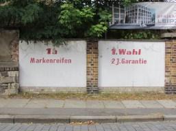 1a Markenreifen in der Ehrensteinstraße