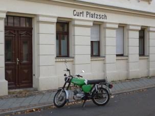 Curt Plätzsch, Kirschbergstraße