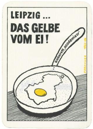 Leipzig ... Das Gelbe vom Ei