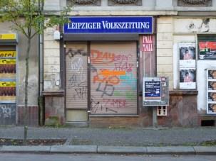 Ehemaliger Zeitungsladen in der Papiermühlstraße