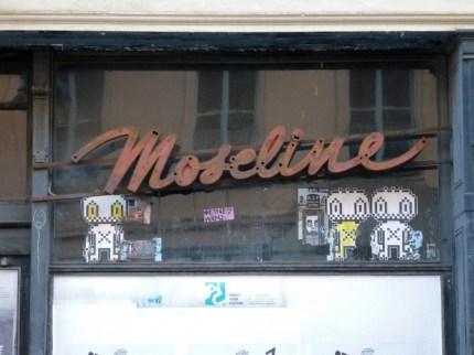Moseline, Gottschedstraße