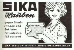 SIKA-Hauben 1970