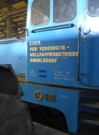Lok aus Engelsdorf