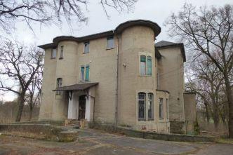 Gegenwärtige Straßenansicht der Tauchnitz-Villa
