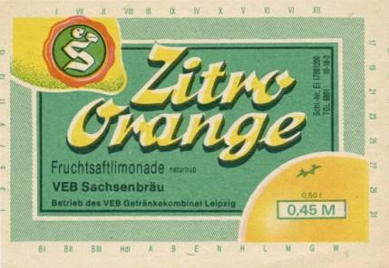 Zitro-Orange von Sachsenbräu