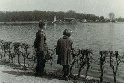 Elsterstausee 1954