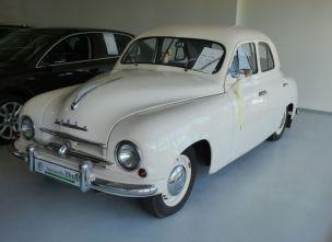 Skoda S 1201 von 1957 (im Autohaus Musil)