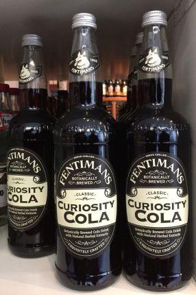 Curiosity Cola in der Getränkefeinkost