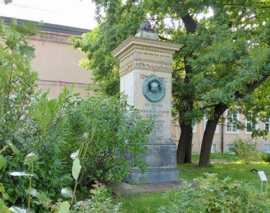 Fricciusdenkmal am Grassimuseum