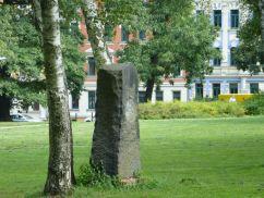 Dankbarkeitsstein im Güntzpark