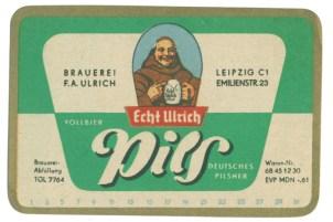 Echt Ulrich Pils (mit Adresse)