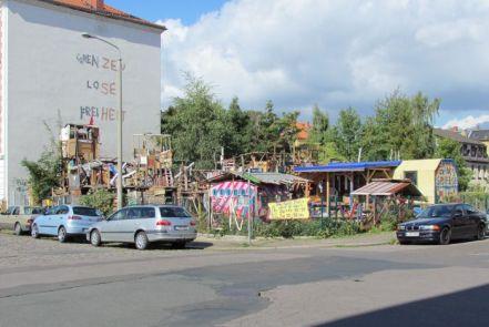 Grenzenlose Freiheit am Bahnhof Plagwitz