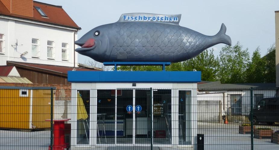 Der Riesenfisch in der Hupfeldstraße