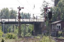 Stellwerk Ls und Brücke Georg-Schwarz-Straße