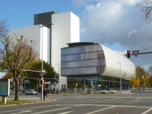 Neuer Teil der Deutschen Bücherei (Foto: Gudrun Schulz)