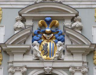 Wappen an der Alten Börse