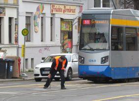 2015: Straßenbahn in Wahren