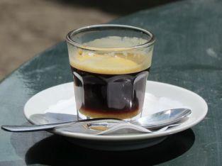 Espresso im Waldfrieden