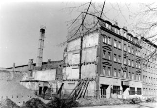 Kulturhaus der Eisenbahner, Elisabethstraße, 1988