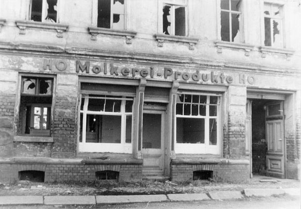 HO Molkerei-Produkte im Leipziger Osten, 1988