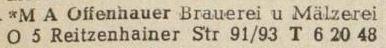1949: Eintrag im Adressbuch