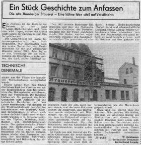 1989: Sächsisches Tageblatt