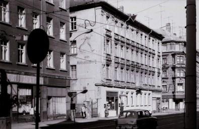 Hermann-Liebmann-Straße 1989 (Foto: Harald Stein, Wortblende)