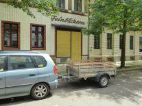Hildegardstraße: Laden noch da, aber geschlossen