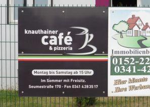 Freisitz-Hinweis in Knauthain