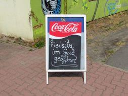 Freisitz-Hinweis in Mölkau