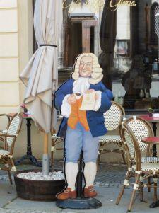 Herr Bach ist wach