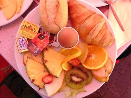Frühstück Halle