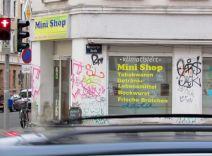 Klimatisierter Mini-Shop in der Merseburger Straße