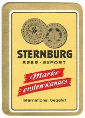 Sternburg Export (Rückseite), 1960er oder 1970er Jahre