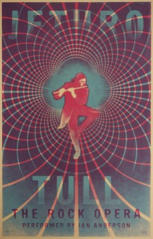 Rainbow-Poster für Jethro Tull