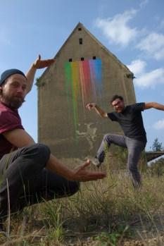 Hannes (links) und Falk