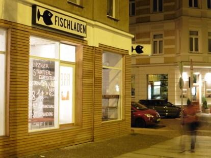 Fischladen in der Dresdner Straße