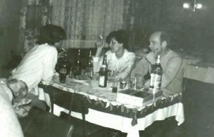 Bierfahrer-Brigadefeier im Neu-Brasilien, 1980er Jahre