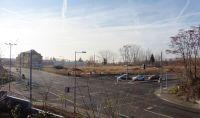 Polyphon-Gelände im Dezember 2015 (Linkelstraße / Neue B6)