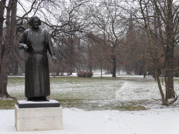 Clara-Zetkin-Denkmal am Johannapark
