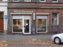 Fleischerei in Schönefeld, Oktober 2012