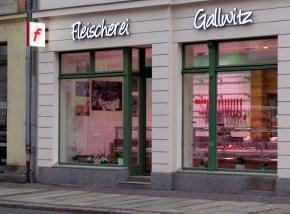 Fleischerei Gallwitz (neu) in der Jahnallee