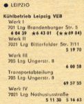 Eintrag im Branchenfernsprechbuch 1978