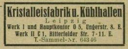 Eintrag im Adressbuch 1943