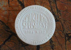 Historischer Senfdeckel aus Mölkau