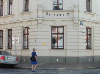 Postamt 27 in der Arnoldstraße