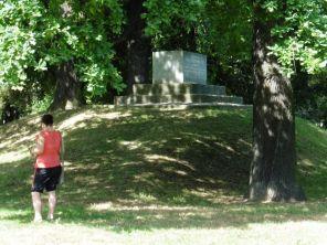 Am Schwarzenbergdenkmal